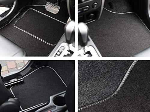 Velours Fußmatten Set VIP individuell gefertigt für Manta 1976-1988. Dicke 5 mm, Serie Q100, in 5 Farben (Beige, Graphit, Schwarz, Blau, Grau). -