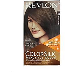 Revlon Colorsilk Hair Color With 3D Color Technology 4N (Medium Brown)