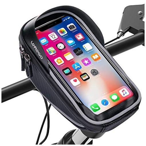 LEMEGO Borsa Bici Cellulare