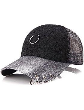 Mujer Béisbol Gorra ,Snapback Sombreros Visor en Ajustable del Sombrero Casual Al aire libre Deportes El NO-08