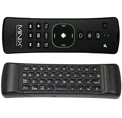 MINIX NEO-A2-LITE Air Maus schwarz / All-In-One AirMouse bietet eine ganze Reihe von Funktionen