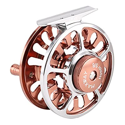 SeaKnight MAXWAY Honor Fly Reels Super Light 3BB Fly Fishing Reels CNC machined Aluminum Alloy Body in Fly Reel Sizes 3/4, 5/6, 7/8, 9/10 by SeaKnight