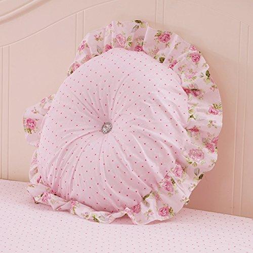 uus Coussin de canapé rose Spot Crative Design Housse amovible style romantique avec un bon coussin en coton PP ( Couleur : B )