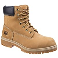 Timberland Unisex Adults Pro Direct Attach Lace up Safety Boots (7 UK) (Wheat)