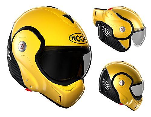 Roof RO9 Boxxer Carbon – Casco amarillo