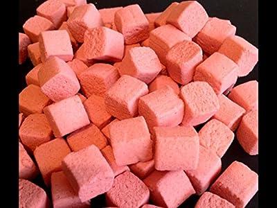 Devour Baits Luncheon Meat Carp Boilies POP UPS - 25 x 15mm MEATY CUBE Pop up Boilie Carp fishing from Devour baits