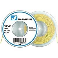 Viessmann 68643 Kabel auf Abrollspule 25 m, 0,14 mm² gelb