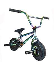 New Limited Edition Mini BMX 1080 Kids Stunt Freestyle Jet Fuel Chrome BMX Rocker Bike