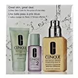 Clinique Great Skin Start Here Geschenkpaket (Liquid Facial Sopa Mild, 30ml - Clarifying Lotion 2, 30ml + Dramatically Different Moisturizing Lotion+, 125ml), 1er Pack (1 x 1 Stück)