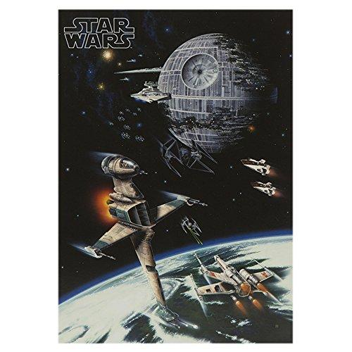 Star wars biglietto di auguri di compleanno motivo - Bon anniversaire star wars ...