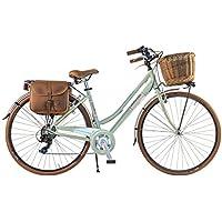 Canellini Via Veneto by Bicicleta Bici Citybike CTB Mujer Vintage Dolce Vita Aluminio Green Clair Verde Claro (46)