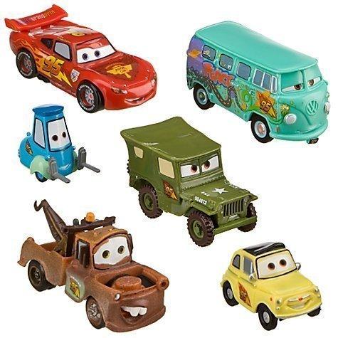 Disney Cars 2 Pit Crew 6 Figure Figurine Set by Disney (Disney Cars 2-pit Crew)