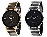 veens Black Dial Watches For Mens&Boys DW10380