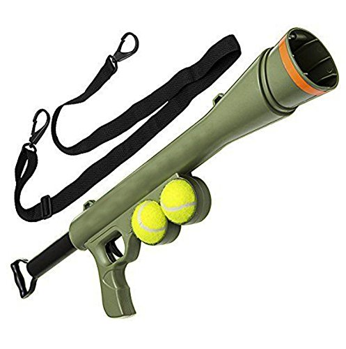 PinkSocks Tennis Ball Launcher Gun Rated Best