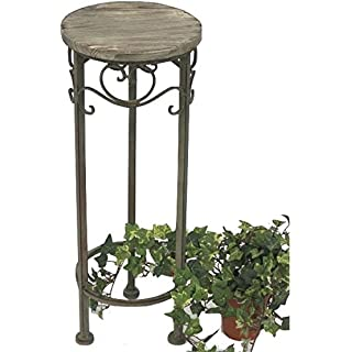 DanDiBo Stool Malaga 11135 Flower stand 56 cm round Flower column Side table