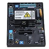 Laileya Reemplazo del módulo de control AVR SX460 accesorios Generador Diesel Regulador de voltaje automático AVR