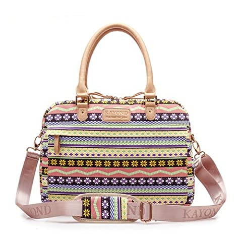 YuHan 15-15.6 Inch Cute Bohemian Laptop Carrying Case / Lady Shoulder Messenger Bag / Briefcase for Macbook, Acer, Dell, HP, Sony,Ausa,Samsung,lenovo, Notebook