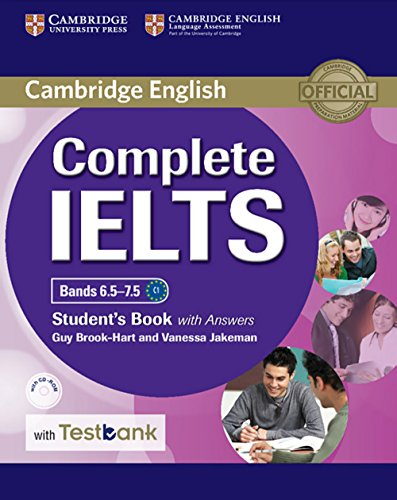 Complete IELTS: Bands 6.5-7.5 C1. Student's Book with answers with CD-ROM with Testbank