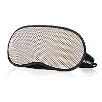 Lalagouk Bamboo-carbon Fiber Eye Mask Sleep Eyeshade(Beige)