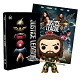 Justice League Steelbook + Poster + Funko Acquaman