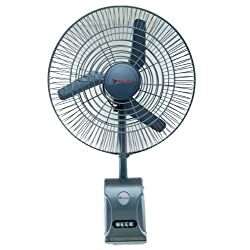 Bajaj Supreme Plus 85-Watt Air Circulator Wall Fan (Silver Grey)