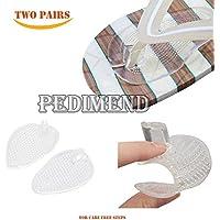 pedimend 2Paar Silikon Gel Zupfen Fuß Unterstützung Massage Pads Einlegesohlen–verwendet werden können, damit... preisvergleich bei billige-tabletten.eu