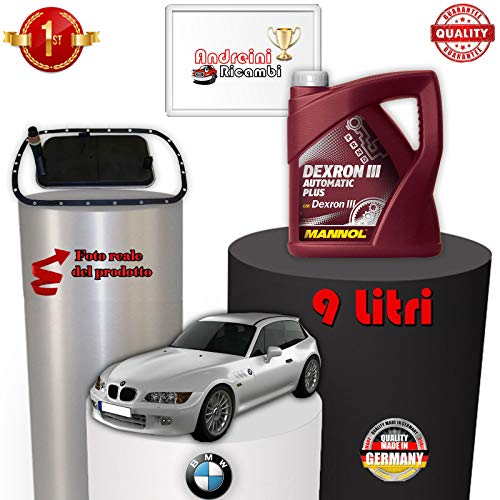 KIT FILTRO CAMBIO AUTOMATICO E OLIO E36 Z3 2.2 125KW DAL 2001 -> 2003 1042