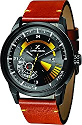 Daniel Klein Analog Black Dial Mens Watch-DK11298-4