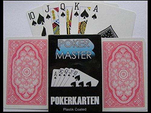 2 x Trickkarten gezinkte Poker Karten Spielkarten Skat Karten Skatkarten Spiel Mau Mau