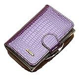 Cieovo RFID echtes Leder Damen Soft Wallet Luxus Geldbörse Womens