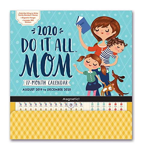 2020 Mom Do It All 17-Month Calendar: Magnetic Strip