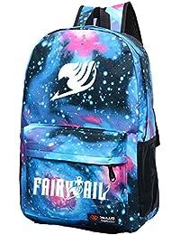 Mochila para la escuela unisex con el logotipo de Fairy Tail, de Daiendi