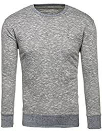 BOLF – Sweatshirt – Pullover – Manches longues – Col rond – Sport – Homme [1A1]