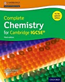 Complete Chemistry for Cambridge IGCSE ® Student book (Third edition)