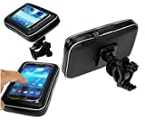 #2: LOWRENCE -Waterproof Motorcycle Bikes Bicycle Handlebar Mount Holder Case(Upto 5.5 inches) For Cell Phone