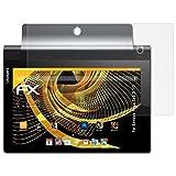 atFolix Schutzfolie für Lenovo Yoga Tab 3 10 Displayschutzfolie - 2 x FX-Antireflex blendfreie Folie