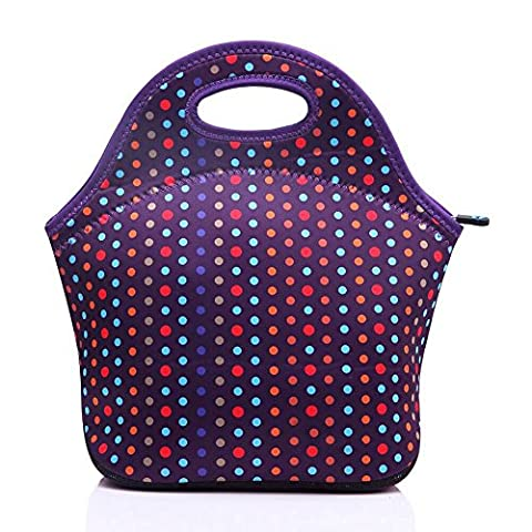 Lunch Tote Bags Neoprene Insulated Waterproof Reusable Picnic Boxes For Men Women Adults Kids