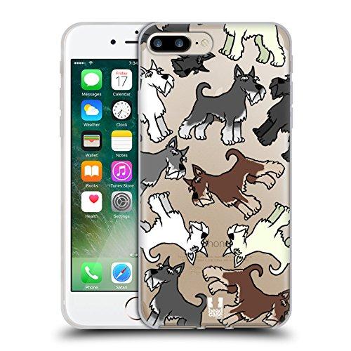 Head Case Designs Shih Tzu Race De Chien Modèle 2 Étui Coque en Gel molle pour Apple iPhone 5 / 5s / SE Miniature Schnauzer