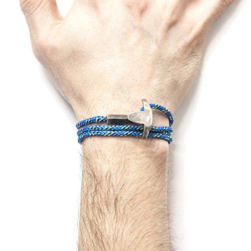Anchor & Crew Bracelet Acier Inoxydable Homme Bleu