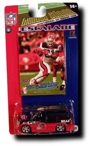buffalo-bills-2005-nfl-limited-edition-diecast-164-cadillac-escalade-with-willie-mcgahee-card-by-fle
