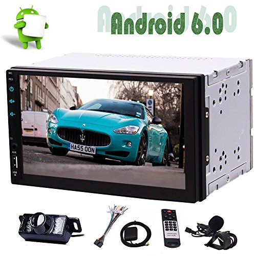 bnehmbare Display Autoradio-Single-Touch-1 Lärm-Auto-Stereokopfeinheit mit 8 GB Auto GPS-Navi-DVD-Spielern in der Schlag-7Inch Autoradio Bluetooth Stereos Unterstützung GPS/NAV ()