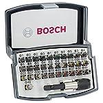 Bosch Profesional - Set de 32 unidades para atornillar (Ph, Pz, S, H, T, Th)