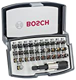 BOSCH 2607017319 Screwdriver Bit Set [Set of 32]