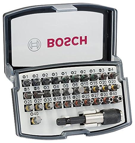 Bosch - 2607017319 - Embouts de Vissage - Coffret de 32 Pièces