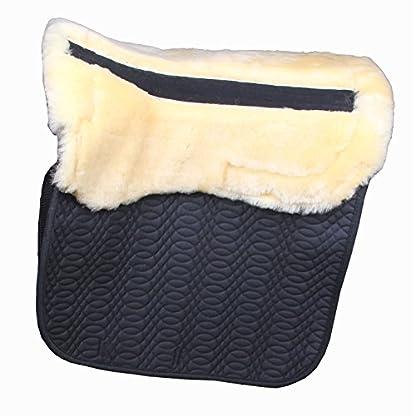 Merauno Sheepskin GP Saddle Pad Full Blanket Dressage Jumping Numnah Saddlecloth & Square Saddle Pads Horse Riding Show… 4