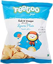 Teetoo Salt & Vinegar Square Plain Chips, 1