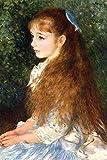 "Buyenlarge 0-587-25488-2-G1827 'Irene Cahen D Anvers' Giclee Fine Art Print, 18"" x 27"""