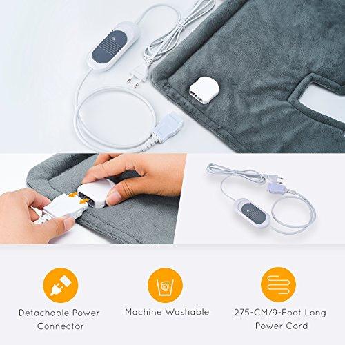 Zoom IMG-3 atmoko termoforo elettrico cervicale e