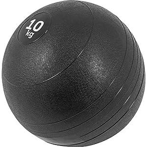 GORILLA SPORTS® Slamball Gummi Schwarz 3-20 kg – Medizinball Einzeln/Set