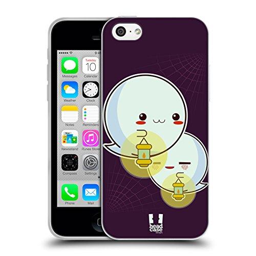 Head Case Designs Potiron - Motifs Halloween Kawaii Étui Coque en Gel molle pour Apple iPhone 6 / 6s Fantôme Main Pleine